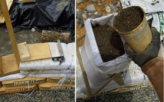 Earthbag, учимся строить дом из мешков с землей за 15 шагов