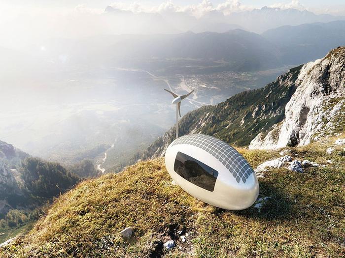 «Ecocapsule», casa autonomă şi «călătoare»