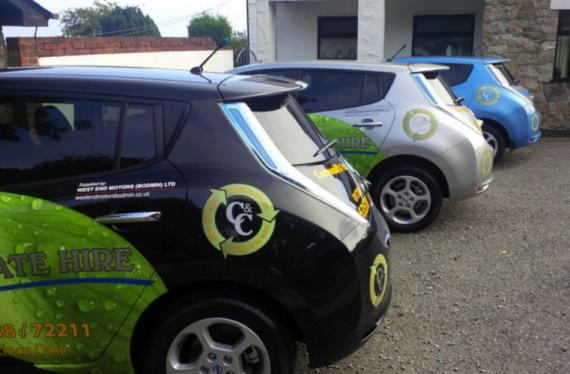 8000 евро экономит британское такси, которое перешло на электромобили