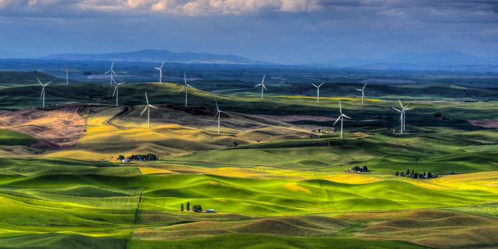 10 самых красивых ветряных электростанций мира