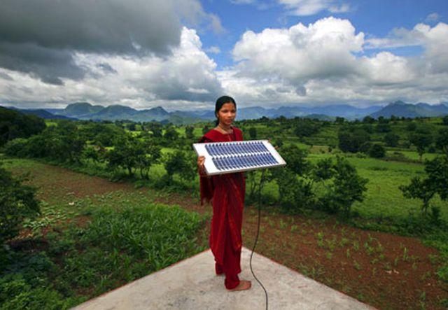 Потенциал Индии в возобновляемой энергетике оценивается в 33 000 МВт