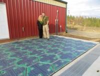Solar Roadways - дороги из солнечных панелей для получения бесконечного электричества