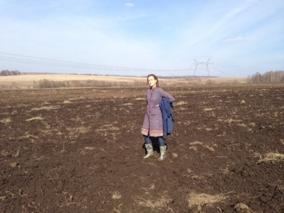 София Шатрова - специалист из фондового рынка, которая стала фермером