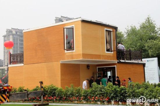 В Китае напечатали на 3D-принтере за 3 часа полноценный двухэтажный особняк