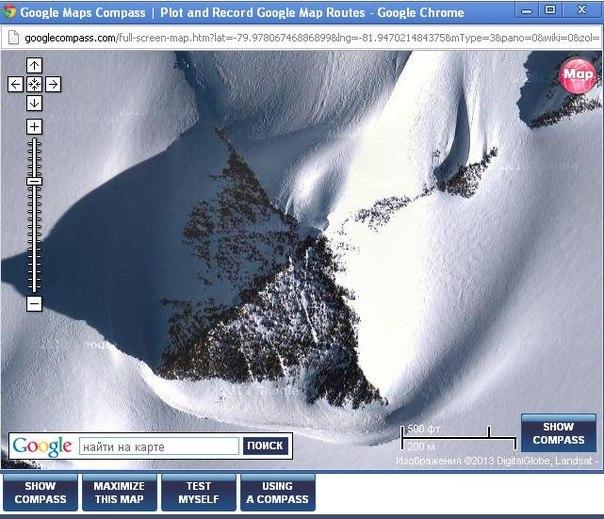Пирамиды древних цивилизаций обнаружены в Антарктиде