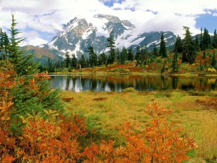 Гора Бейкер и национальный парк Северные Каскады (Видео)