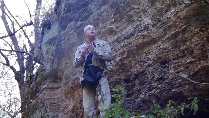 Удивительный Павел Кашин в молдавском заповеднике Цыпова