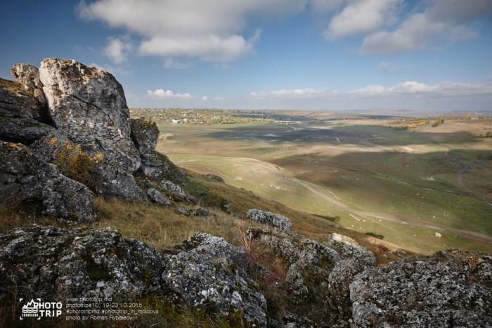 Красивая Молдова. Брынзенское ущелье