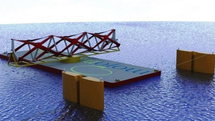 Подводный забор превращает энергию волн в электричество
