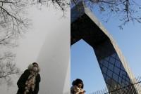 Смог. Фотографии до и после