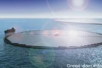 Бразилия строит огромную плавучую солнечную электростанцию
