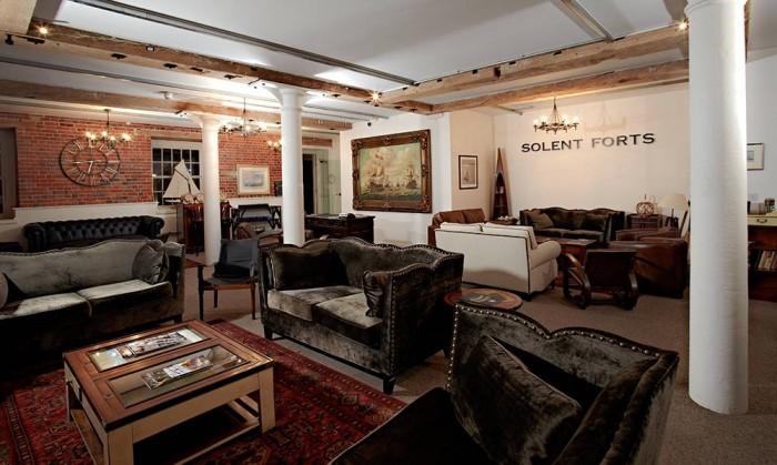 Spitbank Fort3 — отель посреди моря в Британии