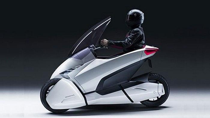 Революционный подход к личному транспорту: автомобиль-мотоцикл от компании Honda