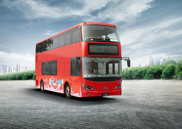 Лондонское транспортное агентство переходит на электробусы