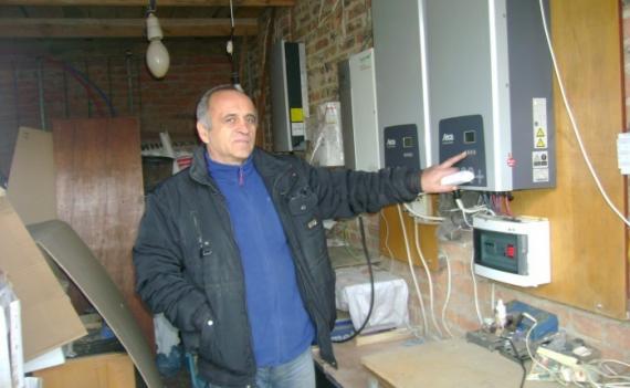 Как луцкий инженер зарабатывает до 9 тыс грн на солнечной электростанции