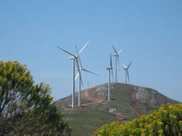 95% электричества Уругвая из возобновляемых источников энергии