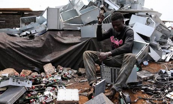 Как работает теневой рынок электронного мусора (+Видео)