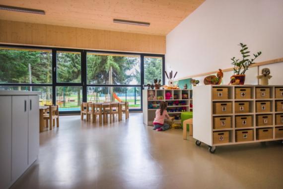 В Словении построили детский сад, который рассчитан на самообучение