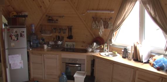 Купольный энергоэффективный домик площадью 45 кв.м.