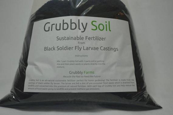 Grubbly Farm - личинки на пути переработки пищевых отходов