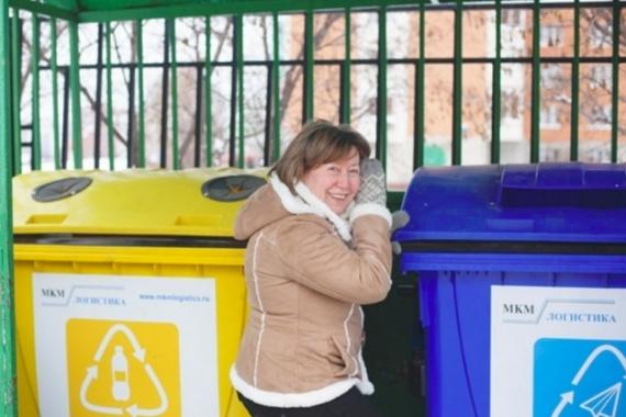 Как москвичка заставила чиновников установить баки для сортировки мусора