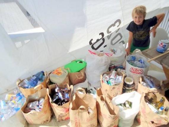 Как 13-летний мальчик 5 лет управляет компанией по переработке пластиковых отходов