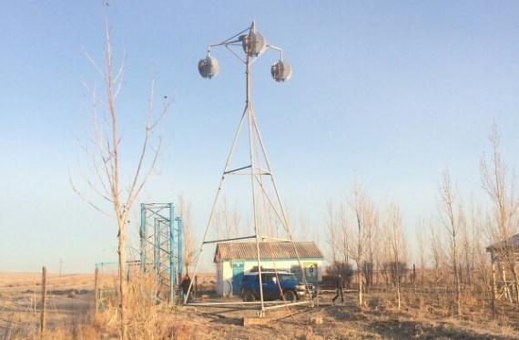 В Казахстане разработали компактный ветрогенератор для отдаленных районов