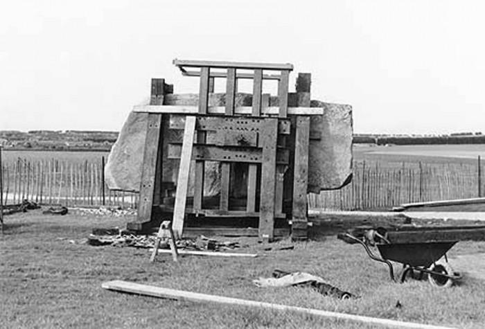Строительство Стоунхенджа с нулевого цикла. Кинo- и фотодокументы 1949-58 годов