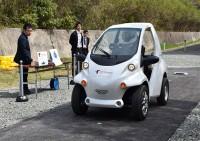 Японцы показали первый электромобиль без батареи
