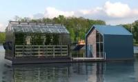 Самодостаточная плавучая теплица способна вырабатывать чистую энергию и выращивать органическую продукцию