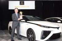 Водородная Toyota Mirai — самый «зеленый» автомобиль 2016 года