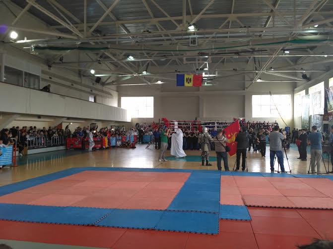 Чемпионат по древнему  молдавскому  боевому искусству  «Воевод»