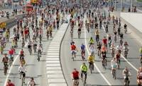 В московском велопараде приняли участие более 30 тысяч человек