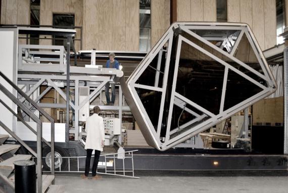 Модульный дом из картона прослужит до 100 лет