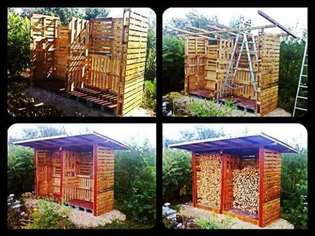 Как построить из деревянных поддонов курятник, забор и многое другое