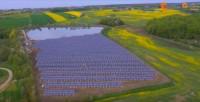Солнечная электростанция на месте свалки в Польше