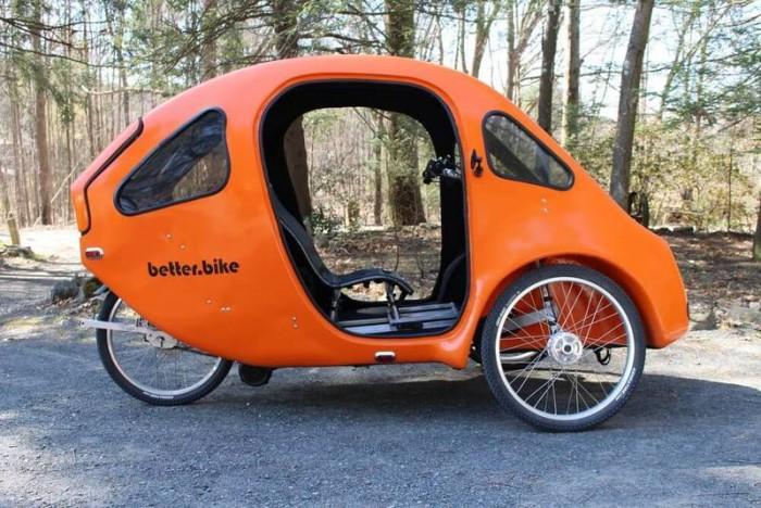 Веломобиль PEBL — экологичный транспорт для города