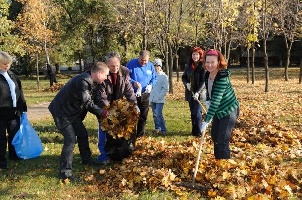 Масштабная уборка в селах пригорода Кишинева