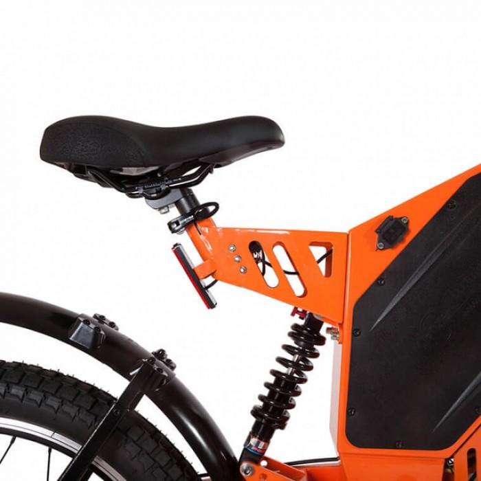 Sparta New Lux Orange: гибрид электропитбайка с велосипедом
