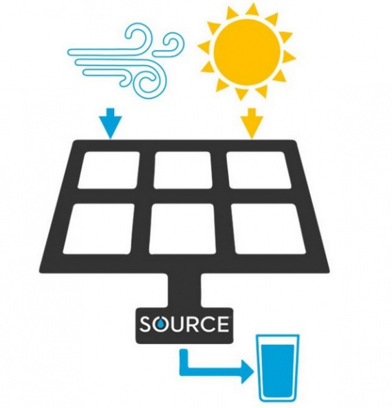 Разработали солнечную панель для производства воды (+Фото)