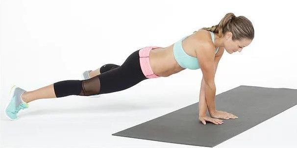 """Как правильно делать упражнение """" планка"""" (+Фото)"""
