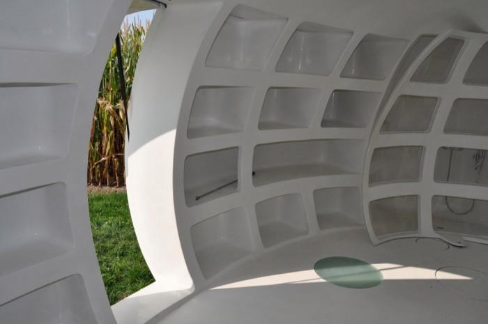 """Дом-яйцо """"blob vb3"""", разрабатываемый бельгийскими архитекторами (+Фото)"""