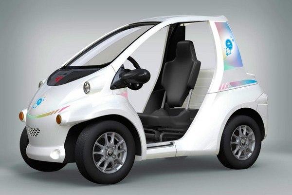Французы обгоняют время! Toyota i-ROAD – трехколесный общественный автомобиль (+Фото)