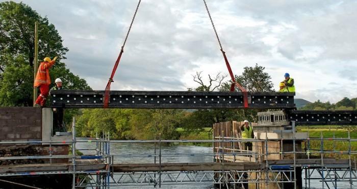 В США построен самый длинный мост из переработанного пластика (+Фото)