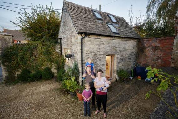 Эта семья получила больше пространства для жизни в меньшем доме