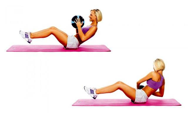 Эти 4 простых упражнения будут уменьшать ваш живот быстрее, чем все остальные