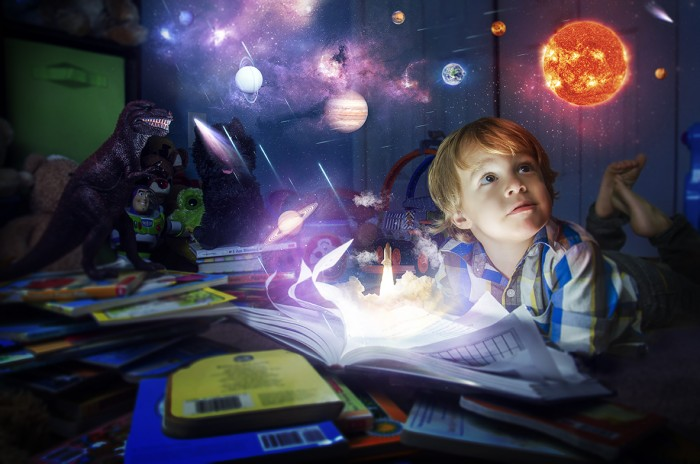 childhood imagination essay Key words: creativity, play, education, early years, early childhood, pre- school, pre-primary, kindergarten, educators, teachers 1 introduction laura chapman wrote extensively on the theme of creative engagement.