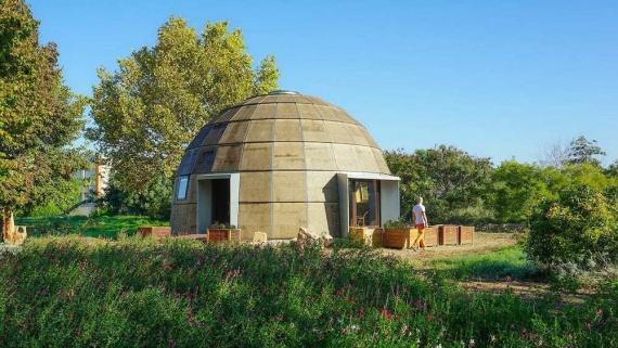 Новый купольный дом, максимально энергоэффективный и быстровозводимый (+Видео)