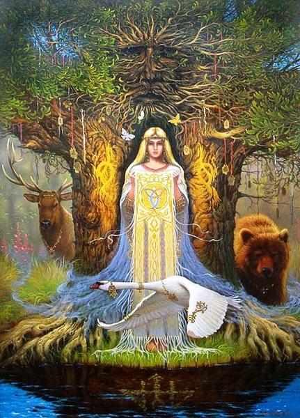 В день 8 марта, для прекрасной половины человечества!  По ту сторону древности. Часть - 4. Женское начало.