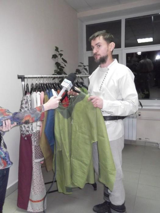 Осовремененную традиционную народную одежду шьют в Родовом Поместье
